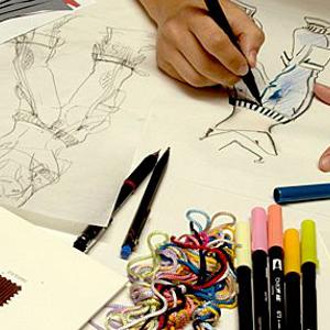 Design del tessuto e della moda